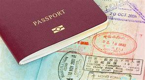 paspoort stempels in paspoort